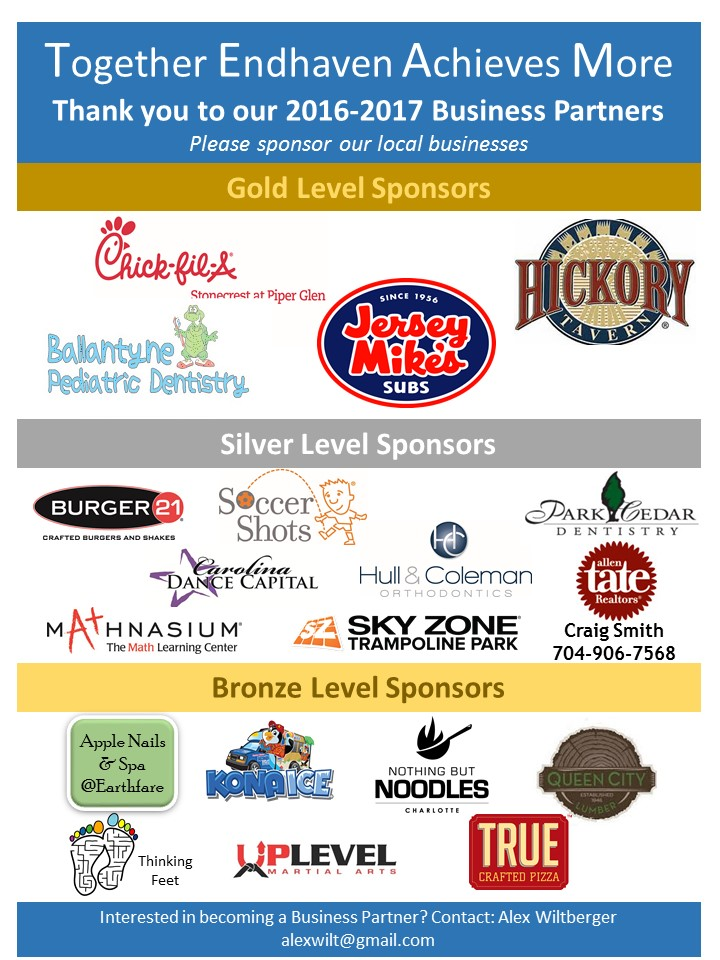 Thank you to our Business Sponsors!